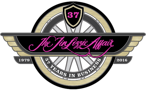 2016 is The Tin Lizzie Affair's 37th Year in Business!